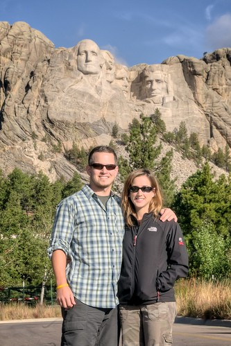Jeff & Stef at Mount Rushmore