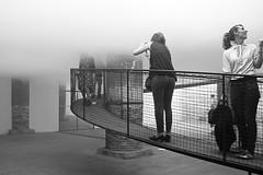 (Donato Buccella / sibemolle) Tags: venice blackandwhite bw fog candid biennale nebbia venezia architettura cloudscapes peoplemeetinarchitecture mg62741f transsolaretetsuokondoarchitects httpwwwtetsuokondojpprojectbnlhtml fubbia