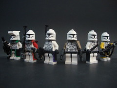Weapon slings (jestin pern) Tags: trooper star lego wars clone mmcb clonetard