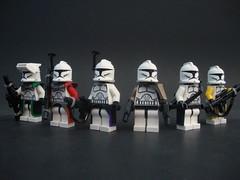 Weapon slings (justin pyne) Tags: trooper star lego wars clone mmcb clonetard