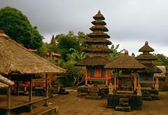 Bali 1989 Tempelanlage (drloewe) Tags: bali indonesia temple religion praying slide dia 1989 lombok indonesien tempel beten