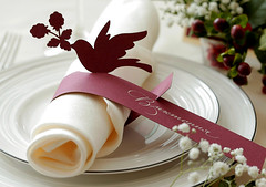 Wedding place card (Special invite) Tags: calligraphy placecard weddingstationary lasercutting weddingcalligraphy