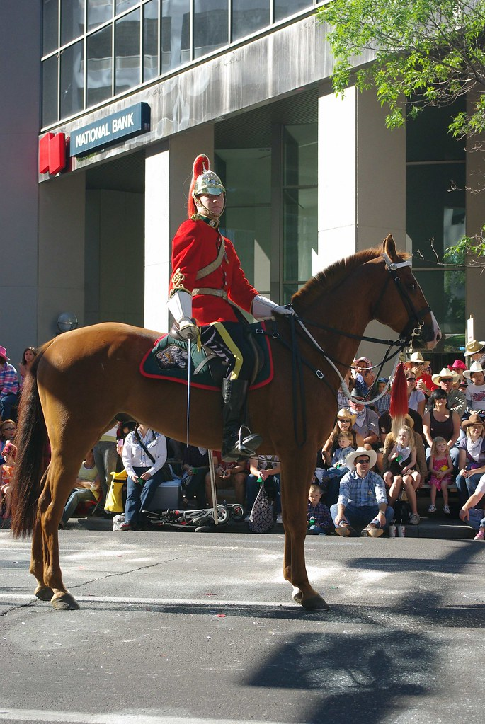The Strathcona Mounted Troop