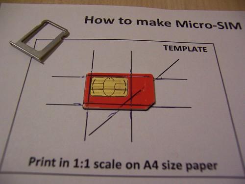 Cutting a micro sim out of my mini sim a photo on flickriver cutting a micro sim out of my mini sim maxwellsz