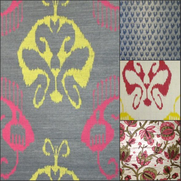 Hand Printed Wallcovering