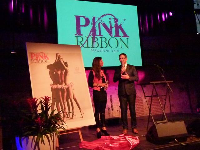 Lancering Pink Ribbon Magazine 2010 by Medicalfacts Jan de Leeuw amp Janine Budding (c)