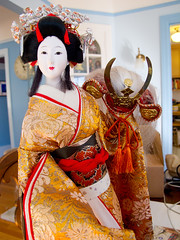 2010-09-29 Geisha Doll (Mary Wardell) Tags: canon gold doll geisha ornate g11 elaborate ourdailychallenge