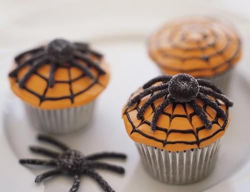 Scary Spiderweb Cupcakes Recipe