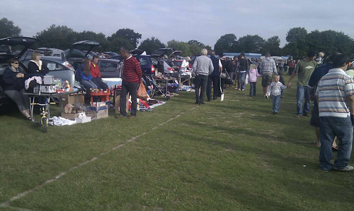 bridgemary car boot sale / Rob Nunn guest blog