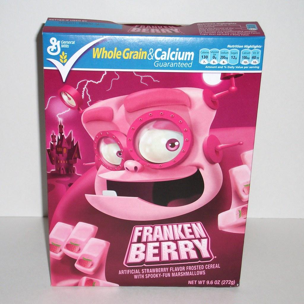 Infinite Cuisine: Franken Berry Cereal Review