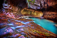 Light in The Subway - Canyoneering in Zion Nat...