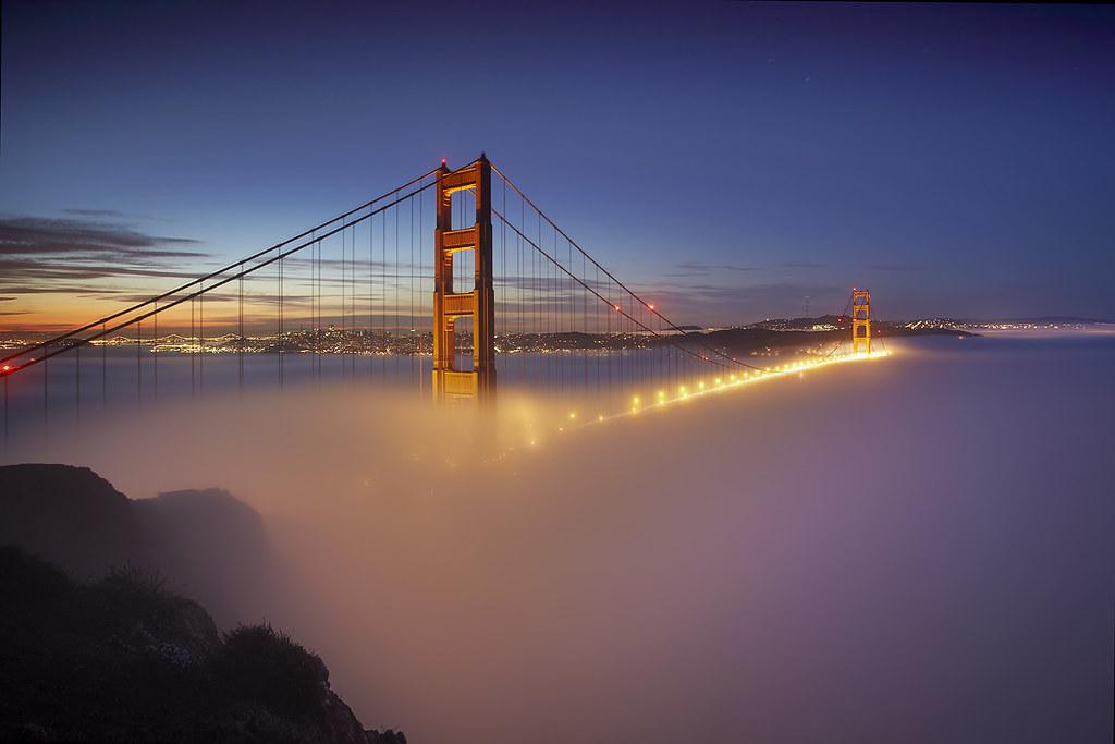 Ομίχλη στο Golden Gate # 1 - Σαν Φρανσίσκο