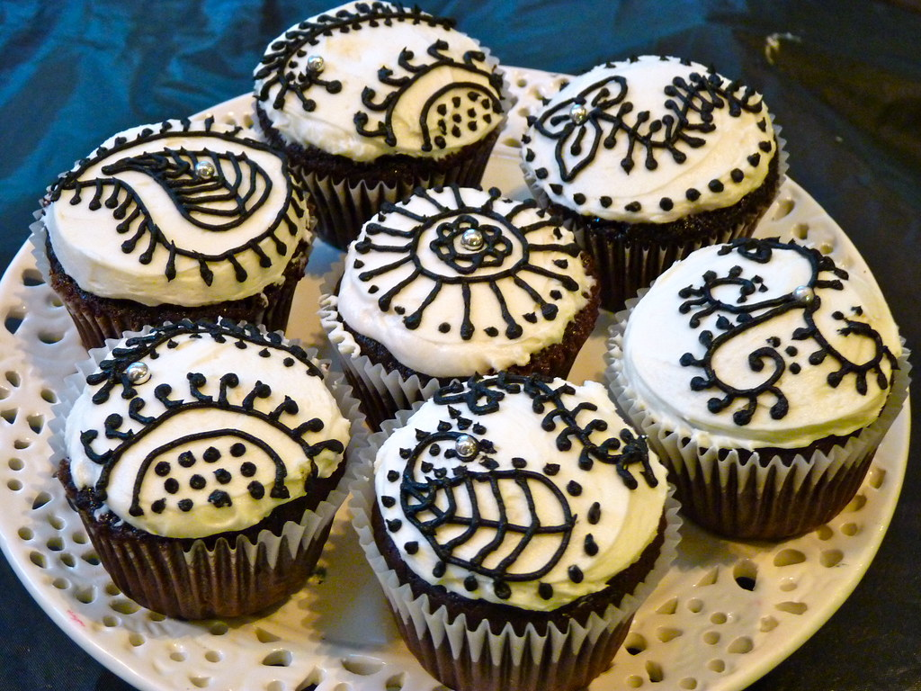Mehndi Cake Toppers : The world s best photos by cupcake queen flickr hive mind