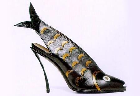 туфли от дизайнера Andre Perugia