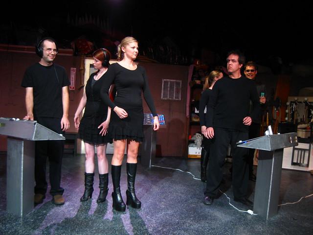 Cole's female Artificons (Erika Salomon, Erin Holt & CJ Merriman) come aboard.