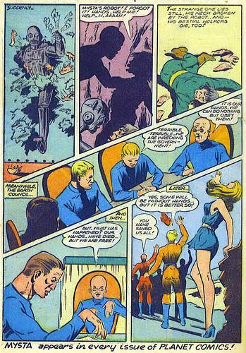 Planet Comics 41 - Mysta (March 1946) 07