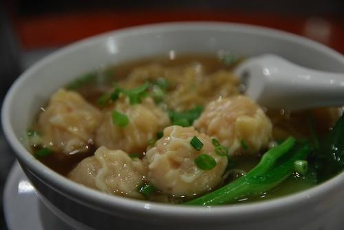 Wonton Noodle Soup - close - Wonton House Swanston AUD9.20