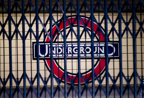 Tube Strike -- The Roundel Caged by www.CGPGrey.com
