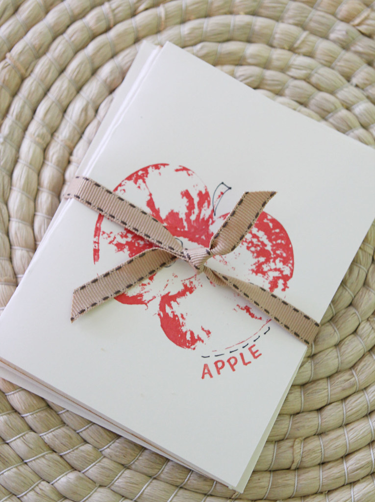apple print cards