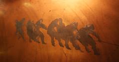 MV Fram massive stairway etchings - Anne-Birthe Hove (Vida Morkunas (seawallrunner)) Tags: cruise beautiful artwork ship elegant regional inspiring gracious hurtigruten cwall relevant mvfram