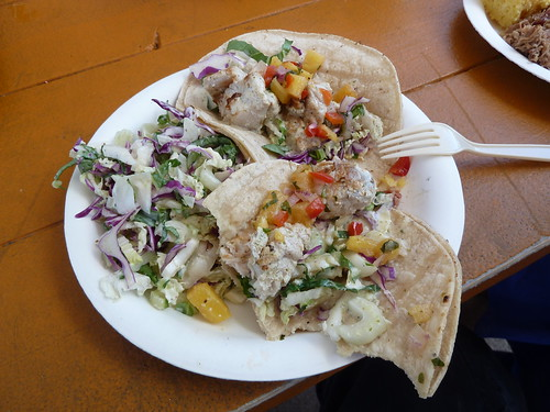 Fish Tacos at Sweet Home Waimanalo