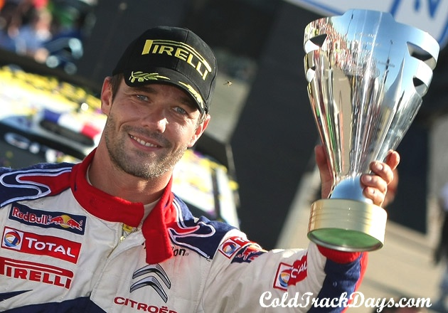 NEWS // SEBASTIEN LOEB COLLECTS 2010 WRC TITLE