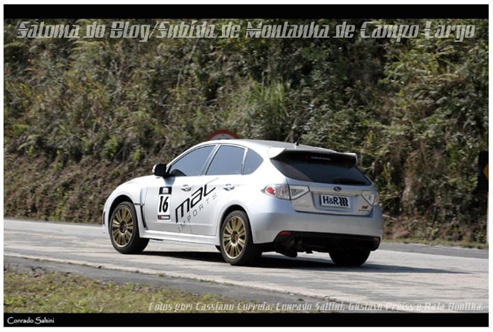 Subaru Impreza WRX_Subida Montanha Campo Largo #2010