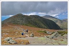 Quality Time (richpope) Tags: newhampshire whitemountains nh hike trail alpine mtjefferson appalachiantrail greatgulf gulfside mtclay gulfsidetrail