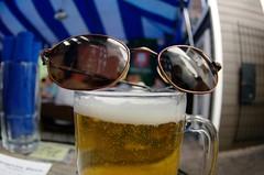cool beer (philliefan99) Tags: beer sunglasses washingtondc districtofcolumbia oktoberfest mug dcist frozentropics nearnortheast hstreetcorridor atlasdistrict biergartenhaus