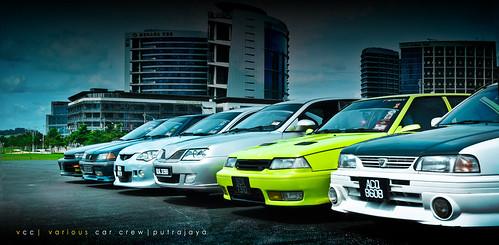 various car crew