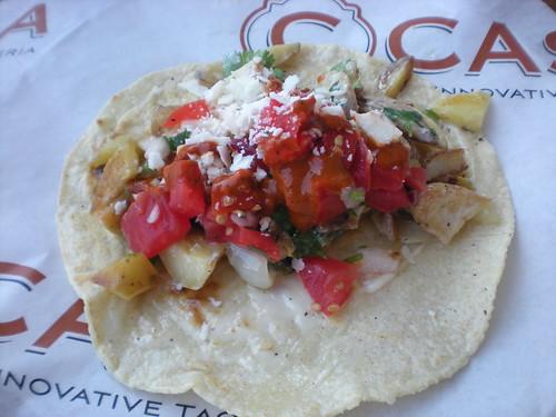 Taco lunch at C Casa, Oxbow Market, Napa