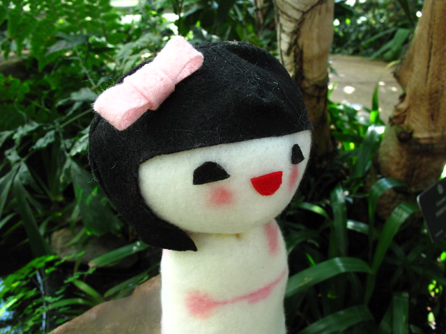 Kokeshi doll plush 24