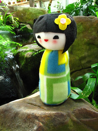 Kokeshi doll plush 10