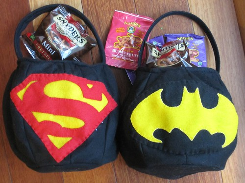 Trick or Treat Bags: Batman and Superman