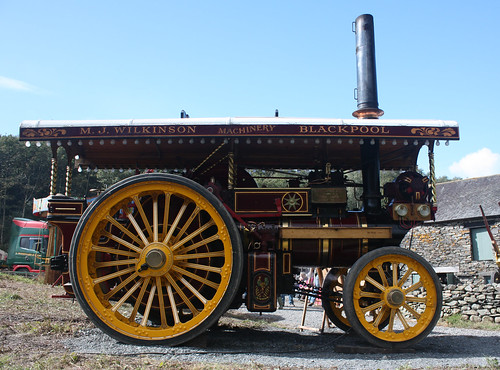 Prospector traction engine 1