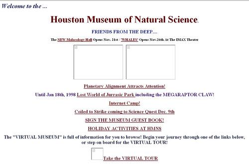 HMNS.org - circa 1997
