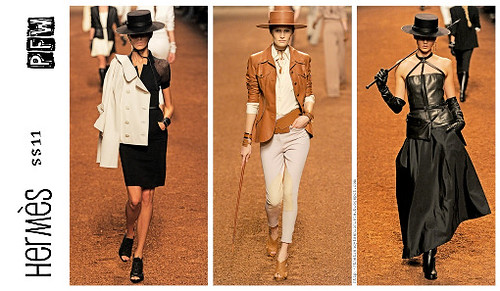 Hermès_SS11-RTW_Collage