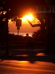 The corner of Battery & Pearl (reidcrosby) Tags: street sunset lake mountains burlington corner vermont battery adirondacks champlain pearl