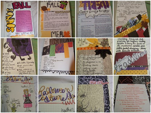 I Heart Fall Journal Update