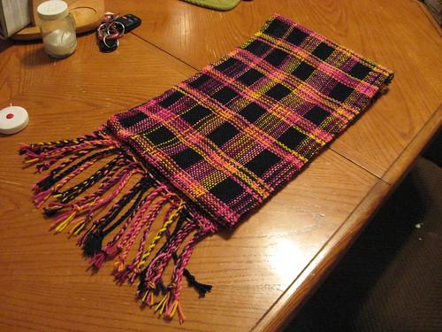 Mindy's scarf