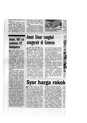 Media Report -- Harian Metro Sep 9, 2010