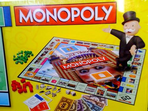 75th Anniversary Luna Park Sydney Monopoly