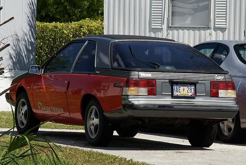 1982 Renault Fuego Turbo. Renault Fuego Turbo