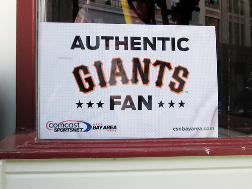 Authentic Giants Fan Poster