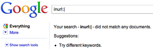 inurl:| pipes and google