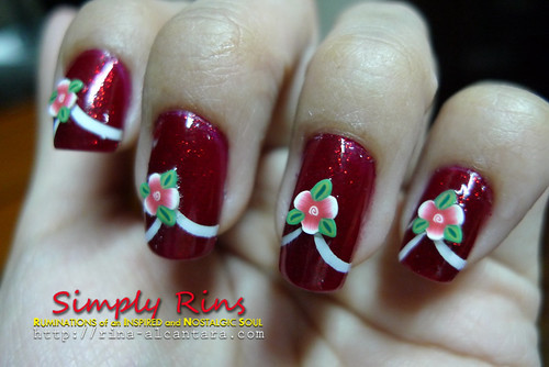 Nail Art Flower Tips 02