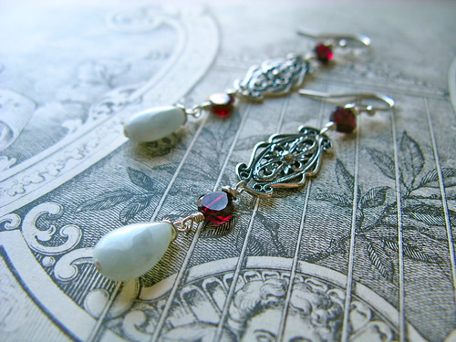 Tudor earrings