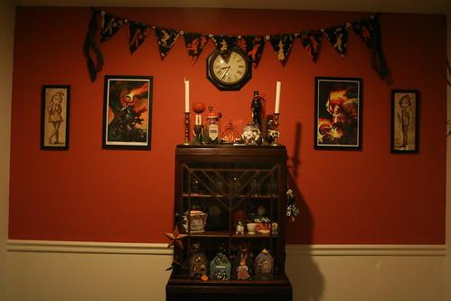 Halloween'd Dining Room