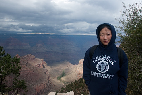 Danielle at the Grand Canyon