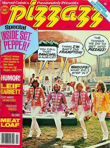 PIZZAZZ magazine 1978